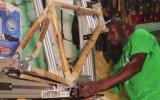Bambudan El Yapımı  Bisiklet