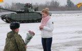 Tanklarla Evlilik Teklifi Yapan Rus Askeri