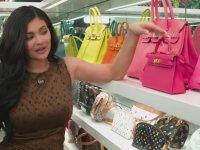 Kylie Jenner'ın 1 Milyon Dolarlık Çanta Odası