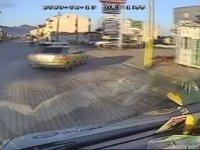 Makas Atan Tofaş'ın Kazasını Görünce Rahatlayan Sürücü