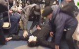 Metroda Corona Virüsü Şakası Yapan Gerizekalılar