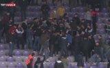 Taraftarlardan Polise Kavga Konseptli Doğum Günü Sürprizi