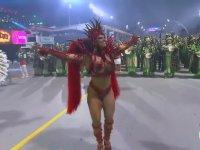 2020 Rio Karnavalı'ndan Renkli Görüntüler