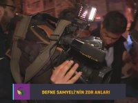 Defne Samyeli'nin Kameramanın Ayağını Ezmesi