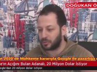 Doğukan Özkan'ın Google'ı Hackleyip 20.000.000 $ İstemesi