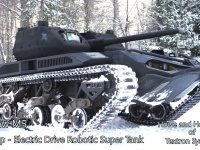 İnsansız Mini Tank Ripsaw M5 RCV