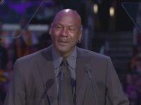Michael Jordan'ın Gözyaşlarına Boğulması (Kobe Bryant'ın Anma Töreni)