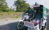 Motosikletini Ücretsiz Ambulansa Dönüştüren Hintli