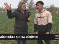 Sınıra Yürüyen Mültecilerle Röportaj (Türkiye Sınır Kapılarını Açtı)