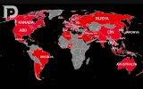 Corona Virüsünün Dünya Üzerindeki Yayılımı
