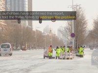 Çin'den Temizlik Görüntüleri