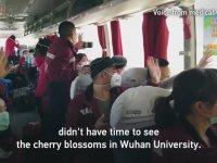 Vuhan'da Doktorların Evlerine Uğurlaması