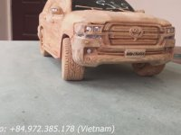 Tahtadan Toyota Land Cruiser