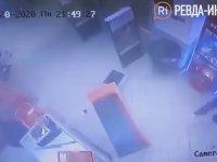 Mağazadaki ATM'yi Patlatarak Soyan Hırsız