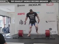 Hafthor Bjornsson'un 501 Kilo Kaldırması