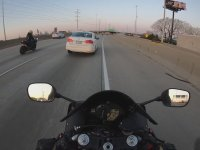 Motosikletlilere Kafayı Takan Sürücü
