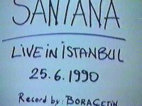 Santana - İstanbul Konseri (25 Temmuz 1990)