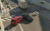 Göz Göre Göre Kaza Yapan Sürücü