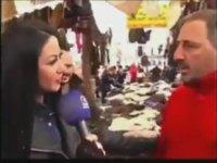 Röportaj Yapan Kıza Asılırken Ters Köşe Olmak