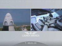 SpaceX'in Uzaya Fırlatılma Anı