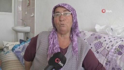 Bahçede Domates Toplayan Anne Ve Kızına Köpek Saldırdı