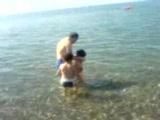 Erce Çamurun Cidede Denizle Tanışması