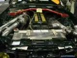 bmw e30 with m5 3.6 twin-turbo motor.