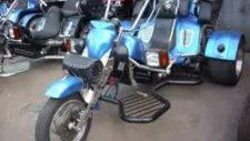 üç tekerli motorsiklet caza