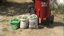 yeşil kabuk soyma makinesi