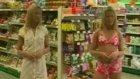 market kamerasıyla yapılan ilginç şaka