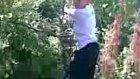 ağaçtan düşen çocuk