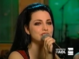 Evanescence - Bring Me To Life Acoustic Live On Aol