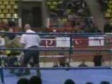 kick boks Şampiyonası maç özeti