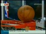 basketbol maçında inanılmaz olay :)