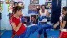 burhan kick boks yaparsa