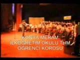 konya meram İlköĞretİm okulu thm öĞrencİ korosu