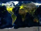 Uydudan 24 Saat Ucak Gorunumu
