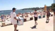 plaj dondurmacısı