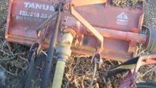 tanus tarim sap parçalama  dal kırma  makinası