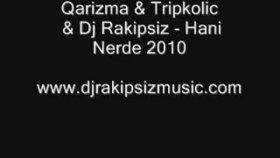 Qarizma - Ft Tripkolic - Hani Nerde