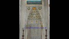 mermer cami dekorasyon yedi karanfil hq-hd