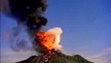Yanardağ Patlama Anı 2