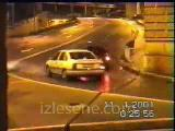 buzda araba kazaları