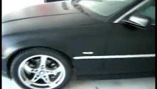 foliotech ankara araç kaplama mat siyah bmw coupe