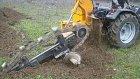 kanal kazma trencher same traktör ile