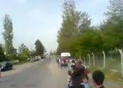 Büyüktuzhisar Kasabası-16 Mayıs 10 Bayrak Geçişi