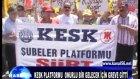 kesk platformu  onurlu bir gelecek için ---greve g