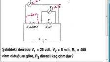 Elektrik Devreleri Soru 1 Fizik