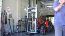 traktör  Ön yükleyici  forklift - canlı tarım