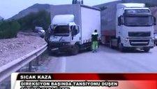 trafik kazası amasya